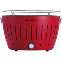 Lotusgrill Holzkohlegrill G 340 feuerrot