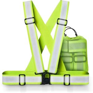 Xcelenze – Warnweste Fahrrad maximale Reflektoren Fläche   Warnweste Kinder Erwachsene   Warnweste Laufen   Reflektorband Sicherheitsweste Reflektorweste Fahrradweste Leuchtweste Kinderwarnweste