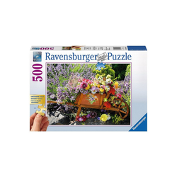 Ravensburger Puzzle Puzzle 500 Teile, 61x46 cm, Gold Edition: größere, Puzzleteile