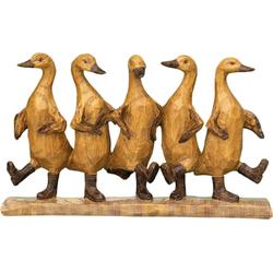 Dekofigur »Enten Tanz«, Dekofiguren, 87046035-0 braun braun