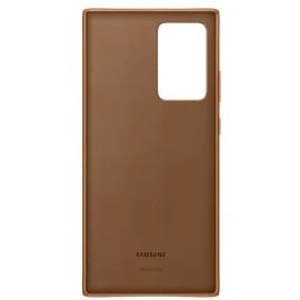 Samsung Leather Cover EF-VN985 für das Galaxy Note20 Ultra brown