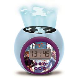 Disney die Eiskönigin Wecker mit Projektion Disney Die Eiskönigin blau/lila