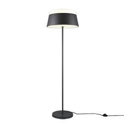 Design Stehlampe grau - Esra
