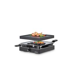 Spring Raclette Raclette 4 mit Alugrillplatte Classic schwarz
