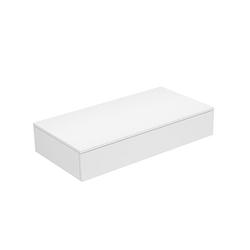 Keuco Edition 400 Sideboard 31760370000   140x19,9x53,5cm, 1 Auszug, Trüffel/Trüffel