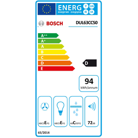 Bosch DUL63CC50 Unterbauhaube 60 cm