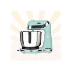 GOURMETmaxx Küchenmaschine, Retro in Mint