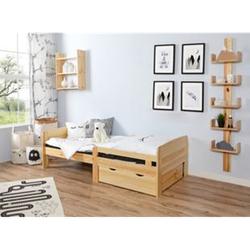 TiCAA Mitwachsendes Kinderbett-Set