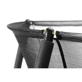 Salta Comfort Edition Combo 244 cm inkl. Sicherheitsnetz schwarz