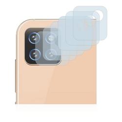 Savvies Schutzfolie für Cubot X20 Pro (nur Kamera), (6 Stück), Folie Schutzfolie klar