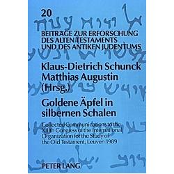 'Goldene Äpfel in silbernen Schalen' - Buch