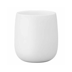 Stelton Becher Stelton Norman Foster 0,2 Liter Thermobecher aus weißem Porzellan