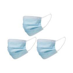 Mercopol Mundschutz Mund-Nasen-Maske, 3er Pack