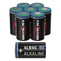 ANSMANN® 4LR44 6V Alkaline Batterie Spezialbatterie - 8er Pack Batterie
