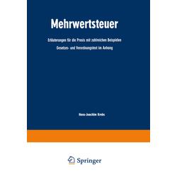 Mehrwertsteuer als Buch von Hans-Joachim Krebs