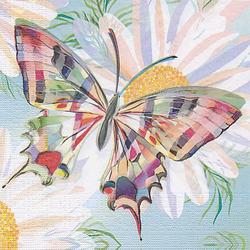 """Papierservietten """"Schmetterling bunt"""", 33 x 33 cm, 20 Stück"""