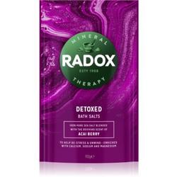 Radox Detoxed Badesalz mit entschlackendem Effekt 900 g