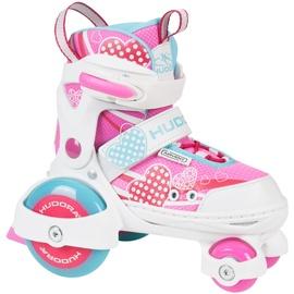 Hudora My First Quad Girl pink/weiß, 26-29