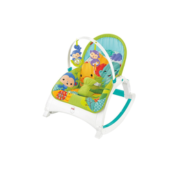 Mattel Fisher-price Rainforest Kompakt-schaukelsitz 2-in-1