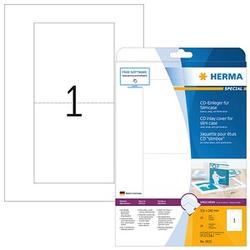 25 HERMA CD-Einleger 5033 weiß