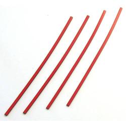 Magnetisches Band 250x5mm VE=4 Stück rot