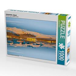 Jökulsárlón, Island Lege-Größe 64 x 48 cm Foto-Puzzle Bild von Gabriele Kottler Puzzle