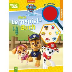 Paw Patrol Mein Lernspielbuch mit Löselupe als Taschenbuch von