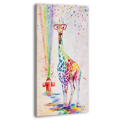 YS-Art Gemälde Giraffenbaby 189