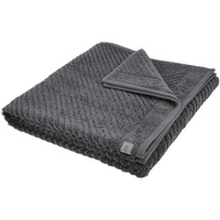 Ross Uni-Rippe Handtücher Smart Frottier-Duschtuch-70x140 cm,