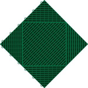 florco® Terrassenplatten classic, 40x40 cm, 6-St., Klickfliesen grün