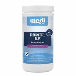 mediPOOL Flockmittel-Tabs 1kg Flockkartuschen Flockungsmittel Flockungskartusche