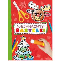 Trötsch Bastelbuch mit Bastelbögen Weihnachtsbastelei: Buch von