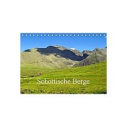 Schottische Berge (Tischkalender 2021 DIN A5 quer)