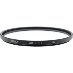 Hoya HD Nano UV Filter (52mm, UV-Filter), Objektivfilter, Schwarz