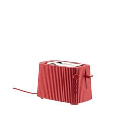 Alessi Elektrische Toaster Plissé rot