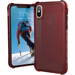 Uag Plyo Case Apple iPhone X, iPhone XS Rot (transparent)