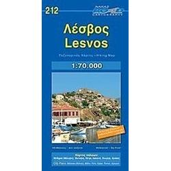 Lesvos (Lesbos) 1 : 70 000 - Buch