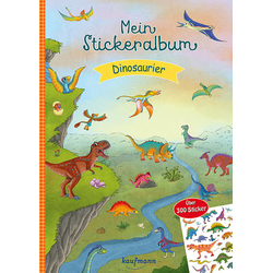 Mein Stickeralbum Dinosaurier: Buch von Klara Kamlah