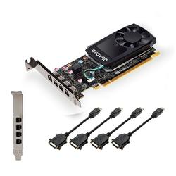 PNY VGA PNY Quadro P1000 v2 4GB DVI GDDR5 Grafikkarte