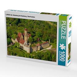 Luftbild der Altenburg bei Bamberg, Oberfranken Lege-Größe 64 x 48 cm Foto-Puzzle Bild von Prime Selection Kalender Puzzle
