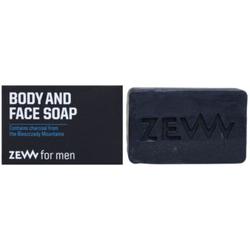 Zew For Men natürliche feste Seife für Körper und Gesicht 85 ml