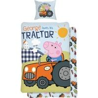 YOURHOME Traktor hellblau (135x200+80x80cm)