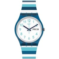 Swatch Striped Waves Silikon 34 mm GN728