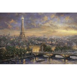 Schmidt Thomas Kinkade Paris, Stadt der Liebe Puzzle 1000 Teile
