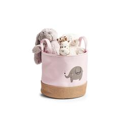 HTI-Living Aufbewahrungsbox Aufbewahrungskorb Elefant (1 Stück), Aufbewahrungskorb Ø 30 cm x 30 cm x 29 cm