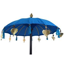 Guru-Shop Dekoobjekt Zeremonienschirm, asiatischer Dekoschirm -..