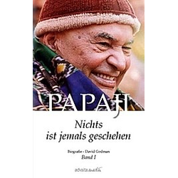 Papaji - Nichts ist jemals geschehen. David Godman  - Buch