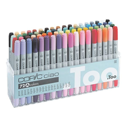 72er-Set COPIC® Ciao A Layoutmarker, COPIC® Ciao