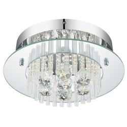 LED 11 Watt Decken Lampe Hänge Leuchte Kristall Behang Beleuchtung Globo 49361