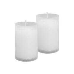 HS Candle Grabkerze (2-tlg), Nachfüllkerze 2er Pack, N1-N5, Ersatzkerze Grablicht 4,8 cm x 9 cm